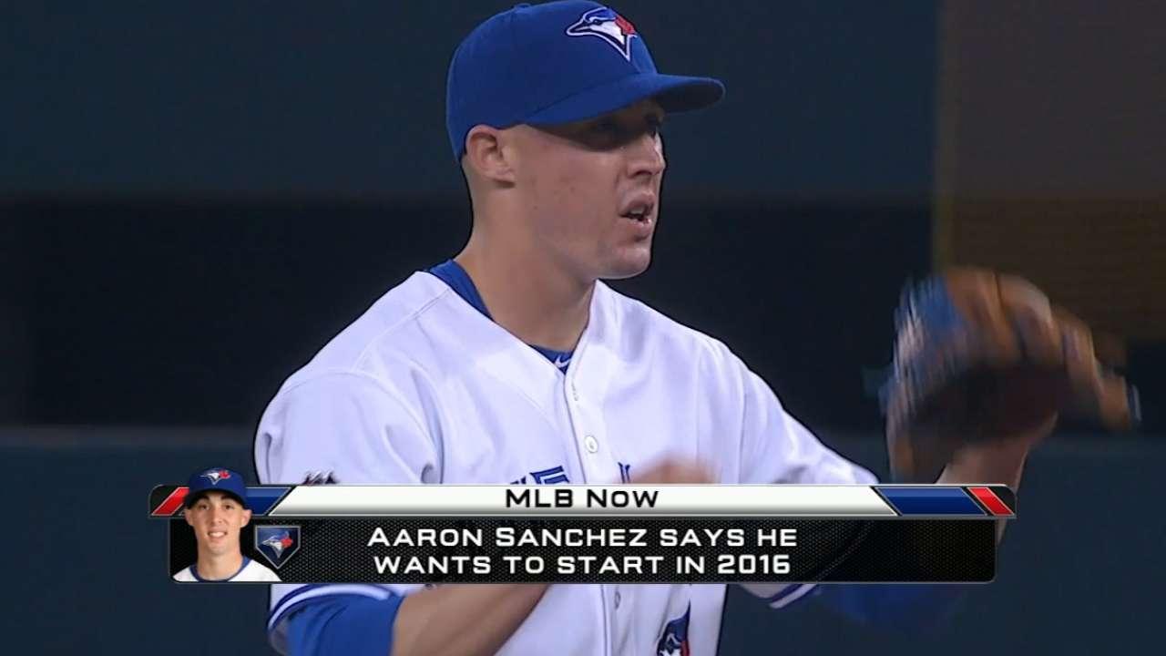 Aaron Sanchez wants to start