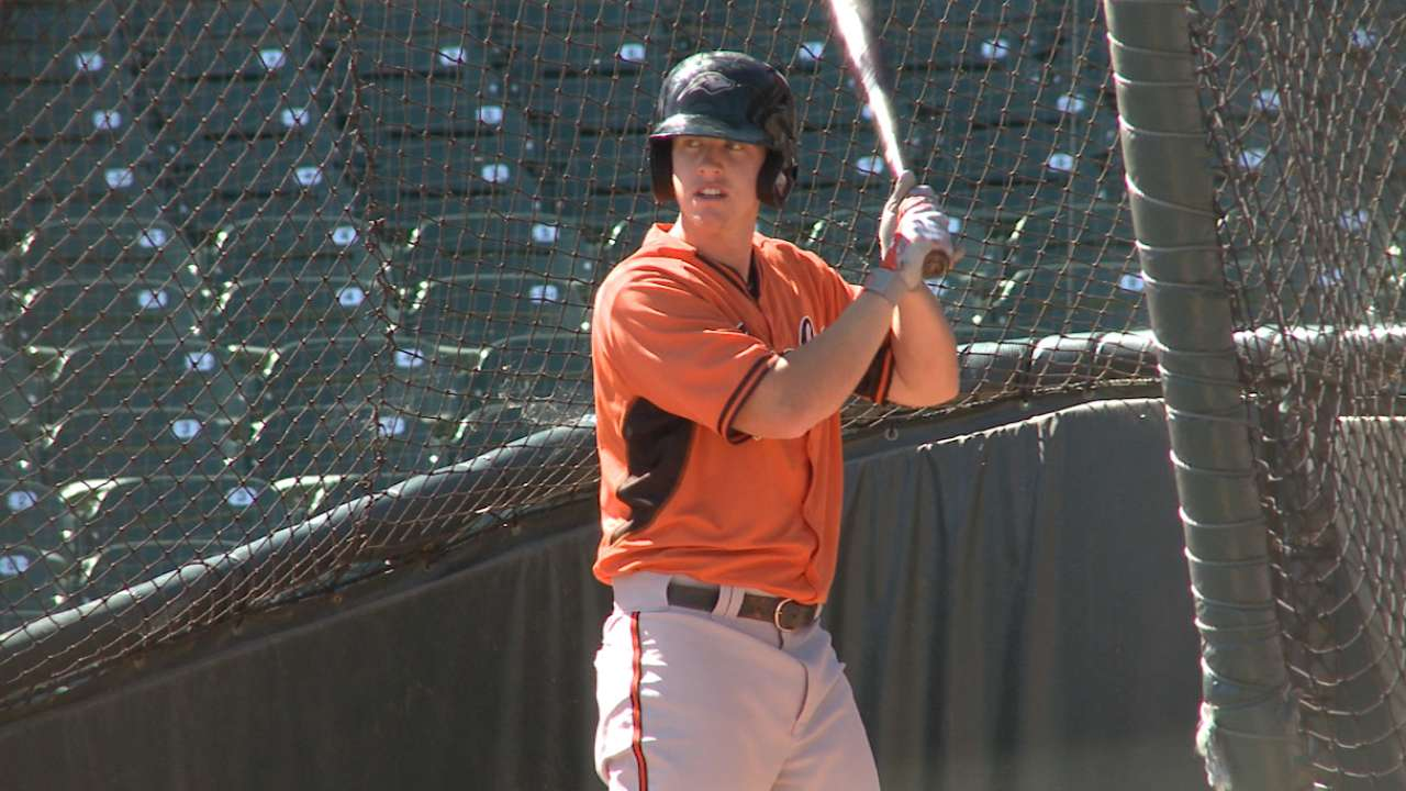 Five questions with Orioles prospect Chance Sisco