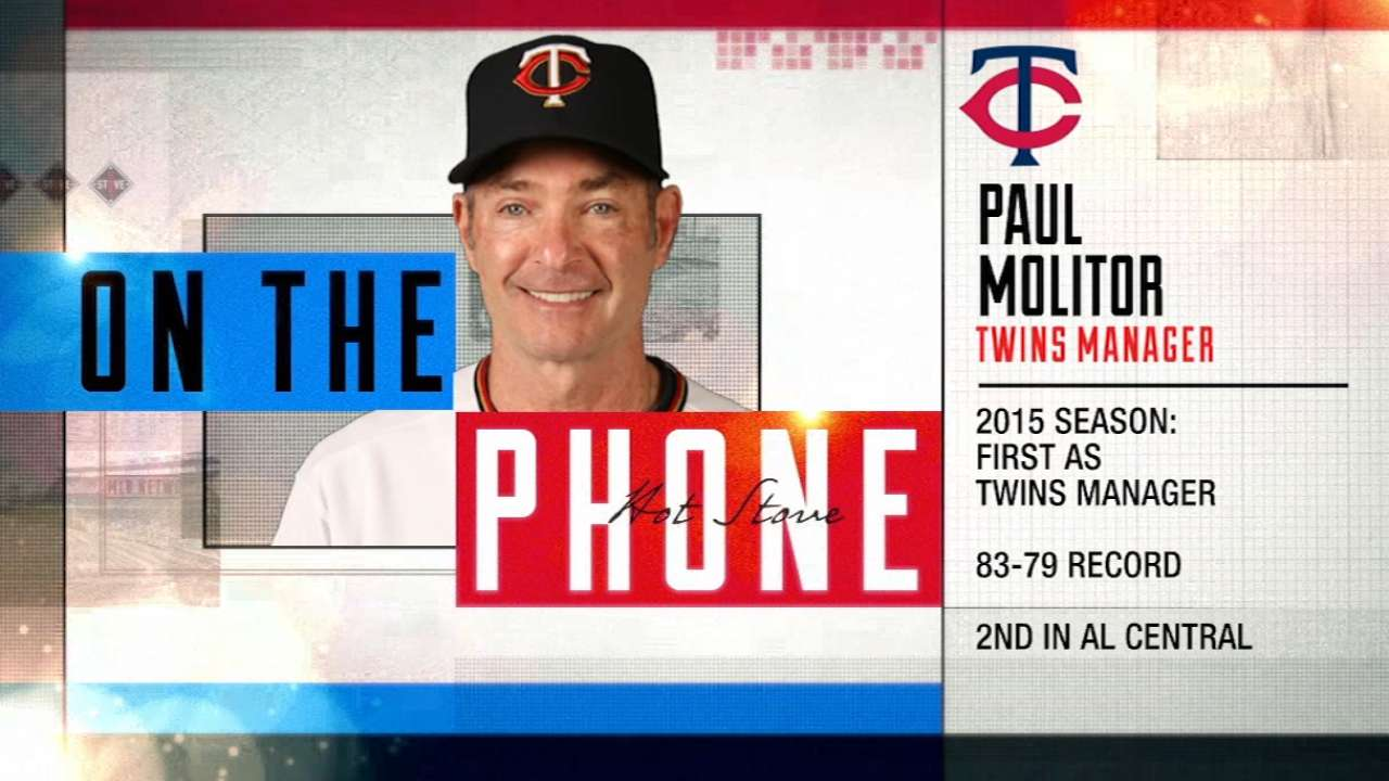 No rest for meticulous Molitor as spring nears