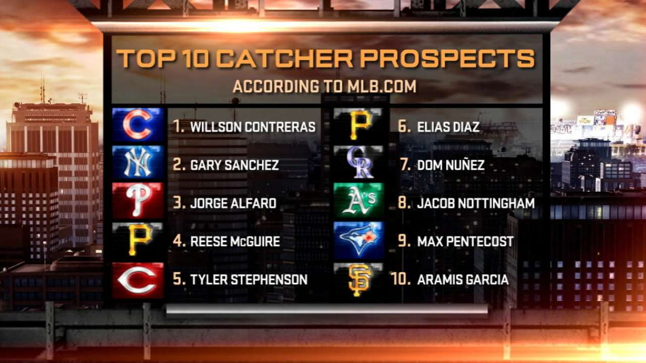 2016 Prospect Watch: Top 10 catchers