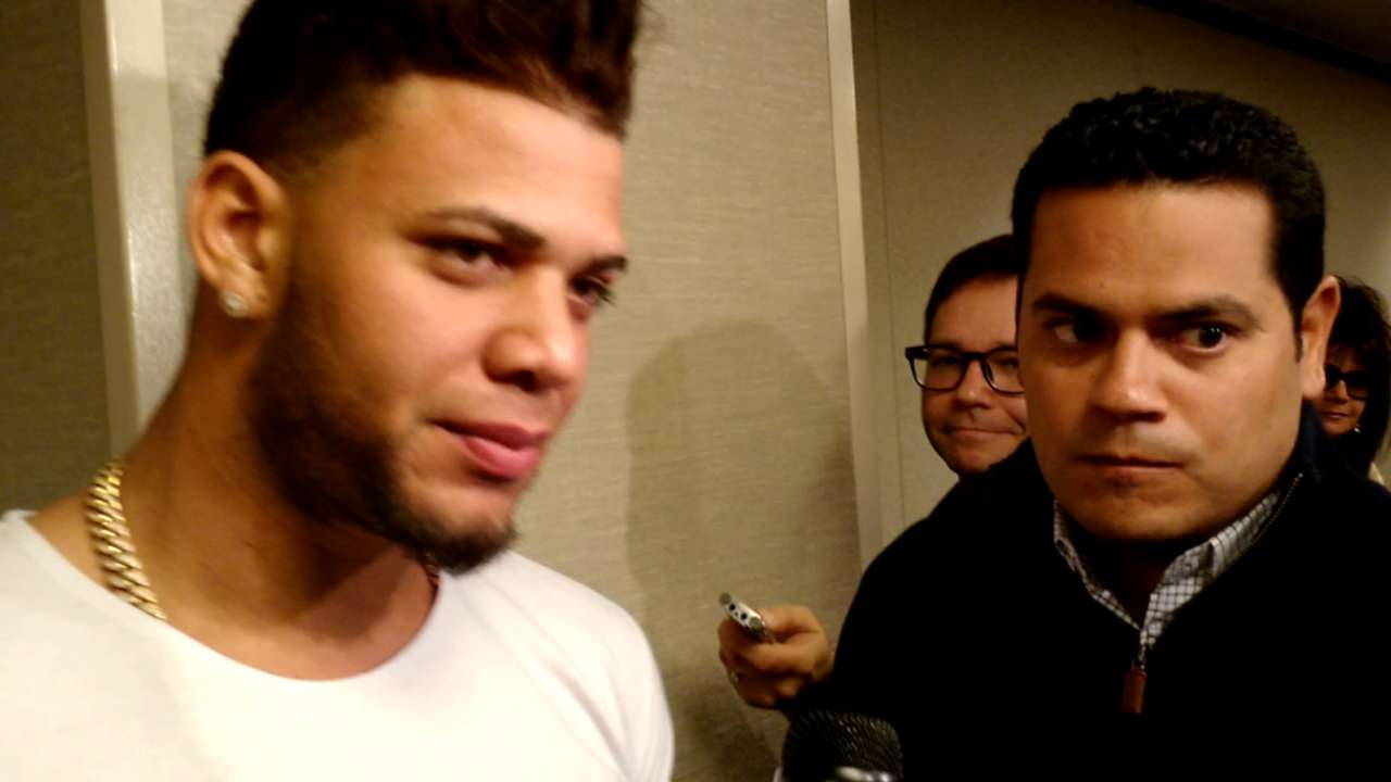 Moncada on rise, won't stop working to improve