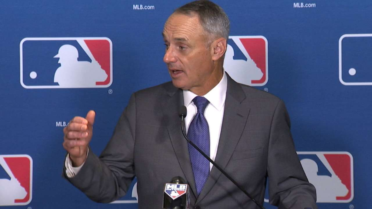 Manfred: Puig investigation ruling to come 'shortly'