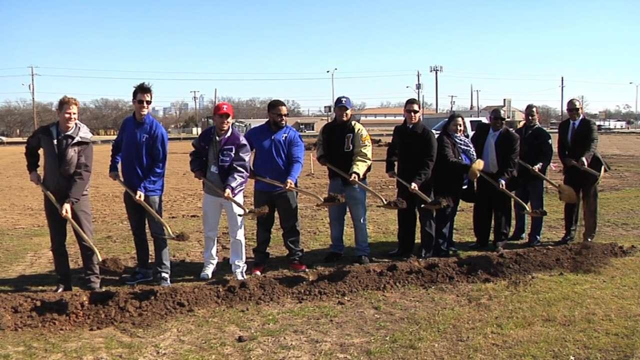 Bush dedicated to advancing urban baseball programs