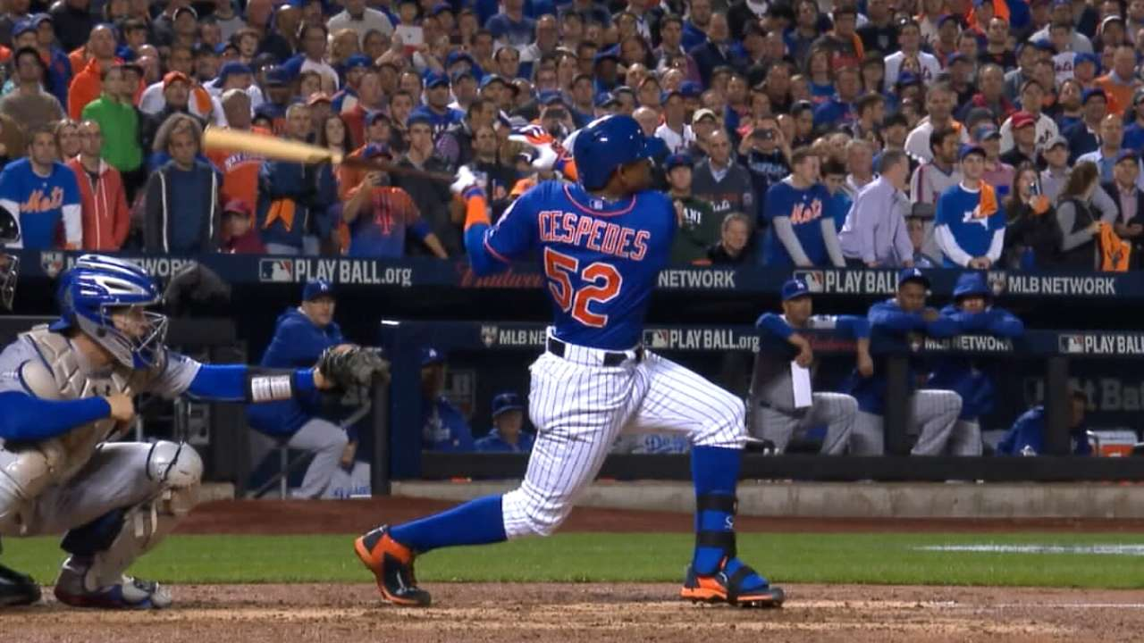 Cespedes, Mets agree to deal