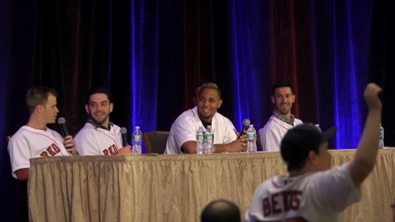 Red Sox answer kids' questions