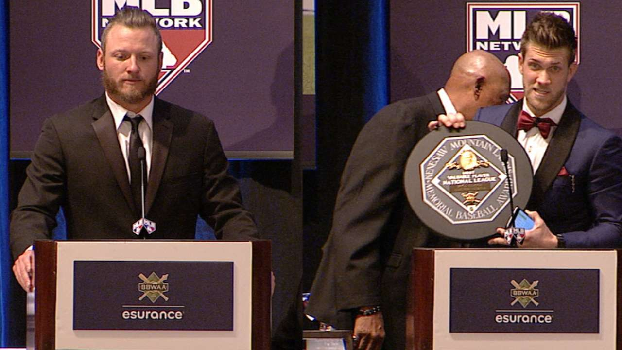 MLB Network to air BBWAA Awards tonight