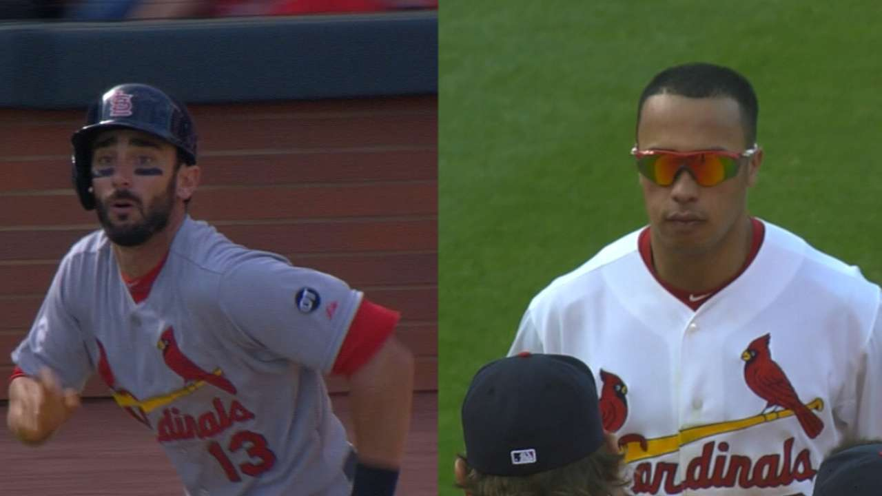 Wong wants shot at Cardinals' leadoff role