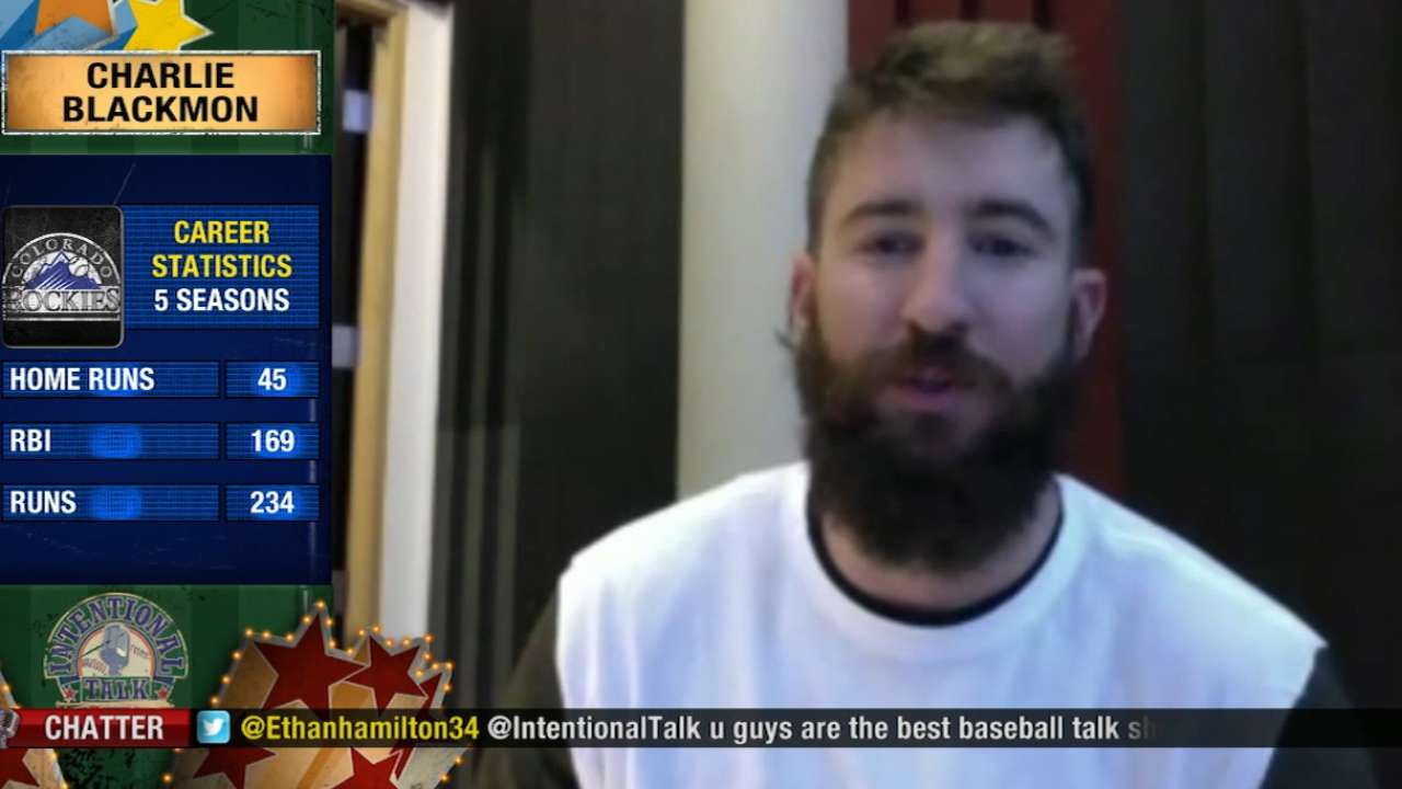Blackmon joins Intentional Talk