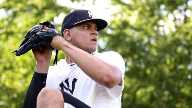 Betances does offseason work in DR