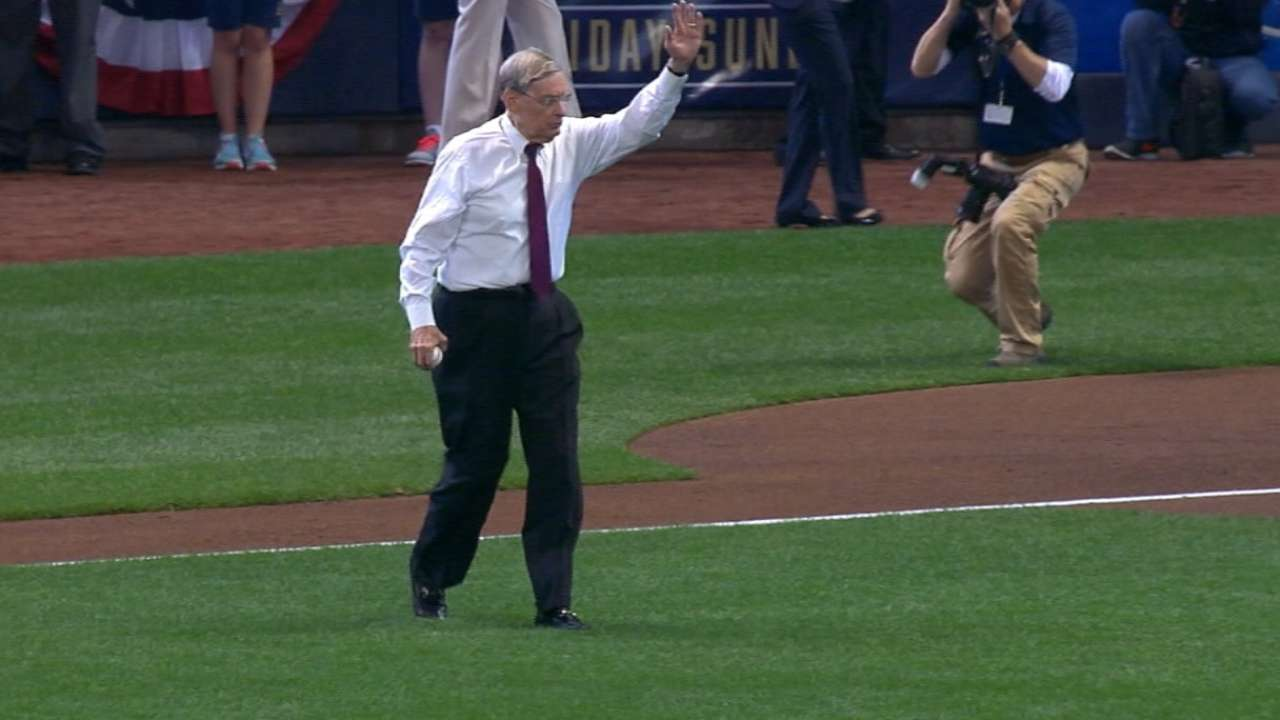 Brewers: Selig, No. 1