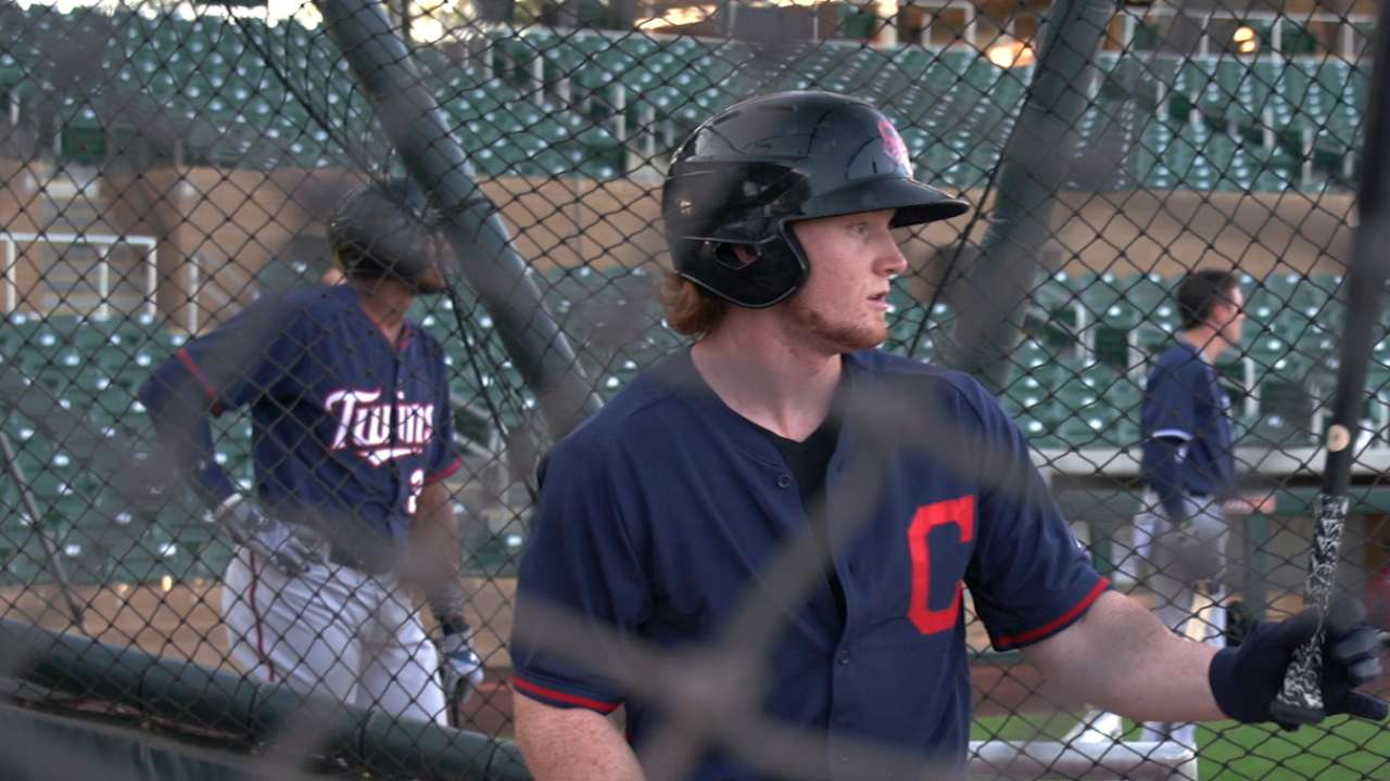 Frazier leads five Tribe prospects in Top 100