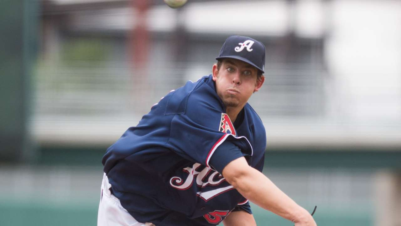 Blair proves unhittable in 7 frames for Triple-A Gwinnett