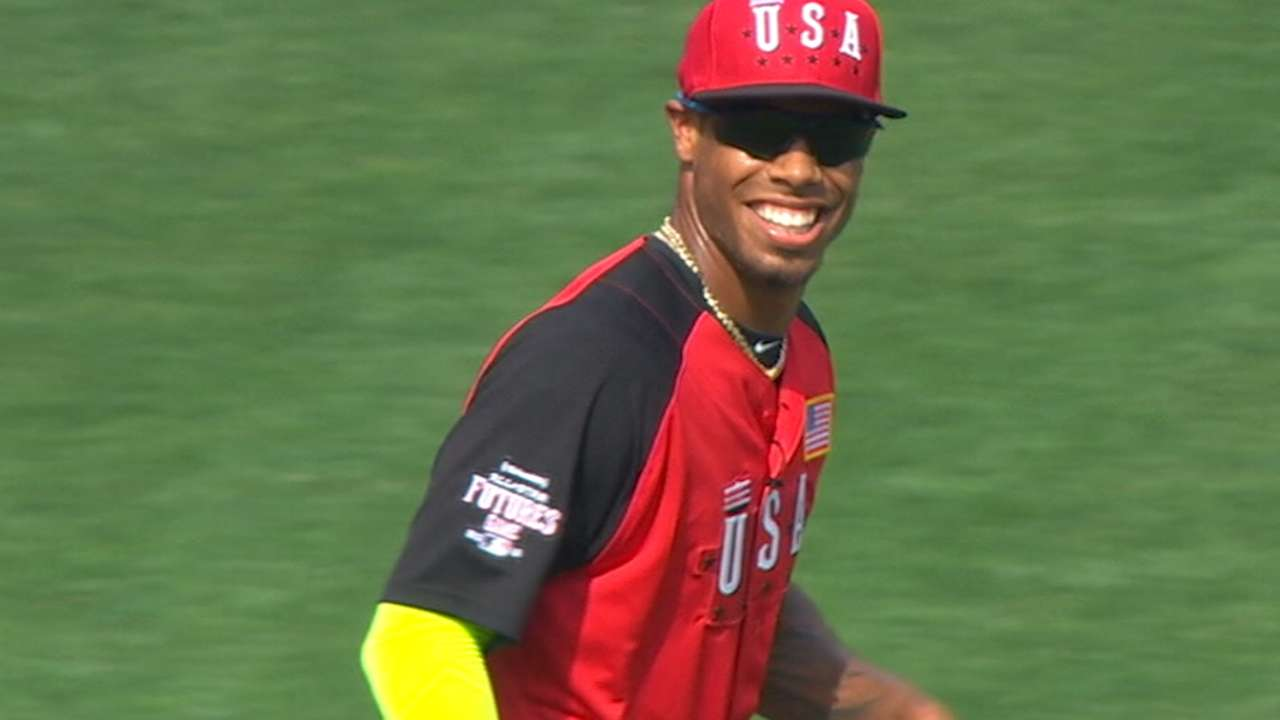 Five questions with Phils' Nick Williams