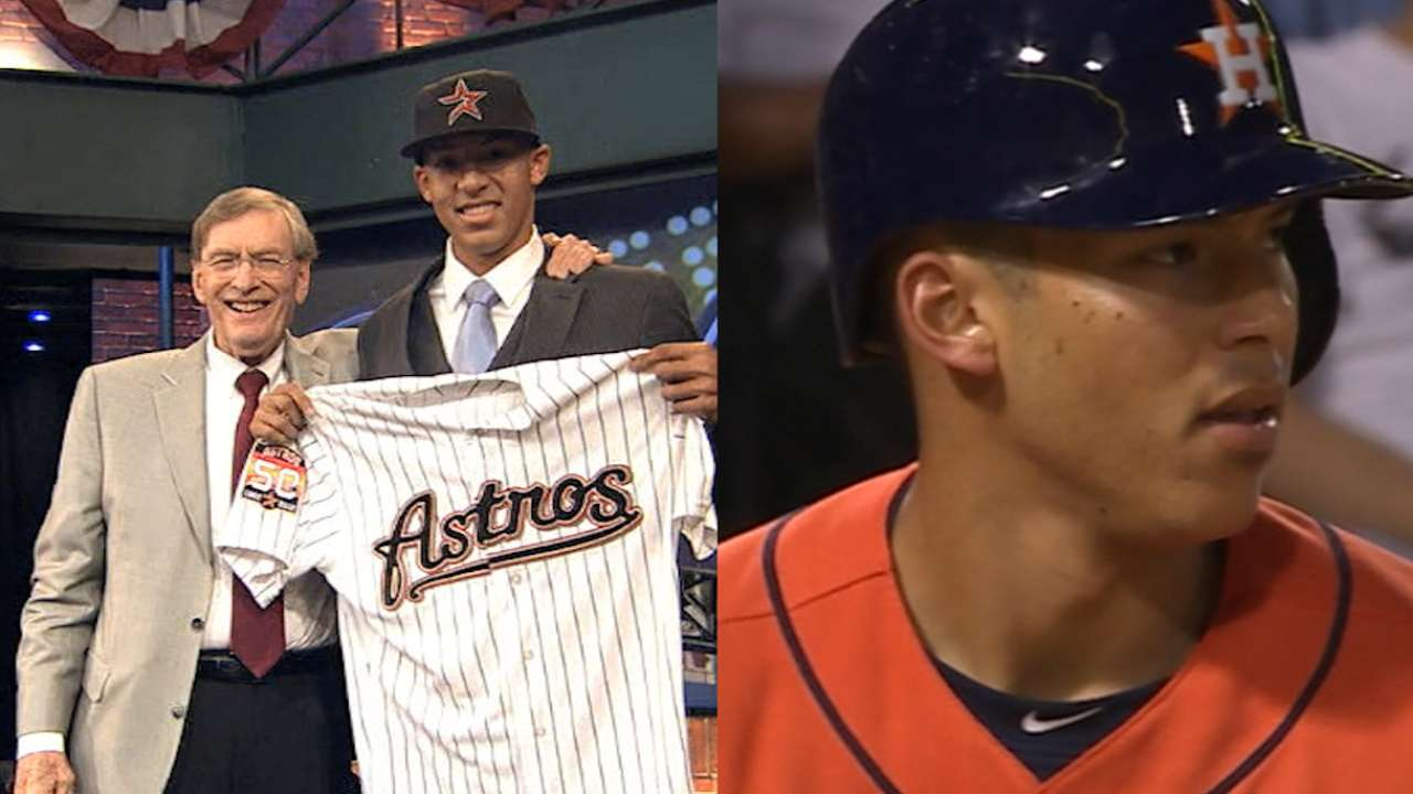 Correa: Top prospect to ROY