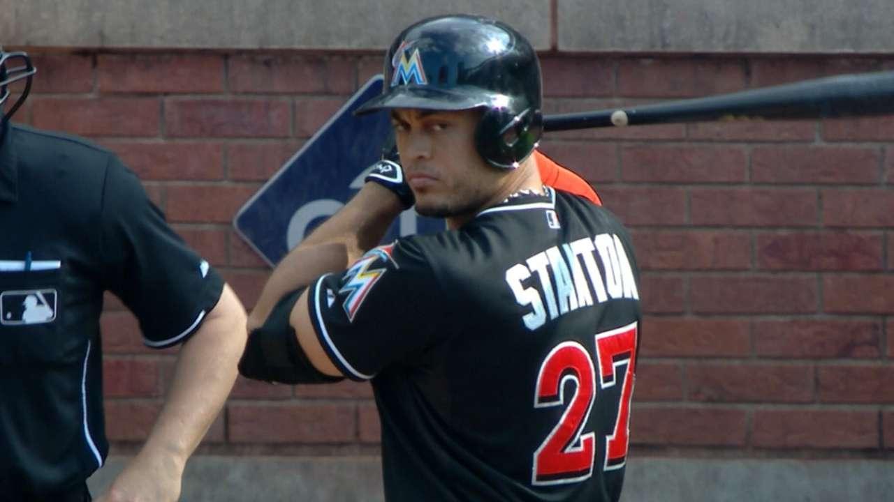 Outlook: Stanton, RF, MIA