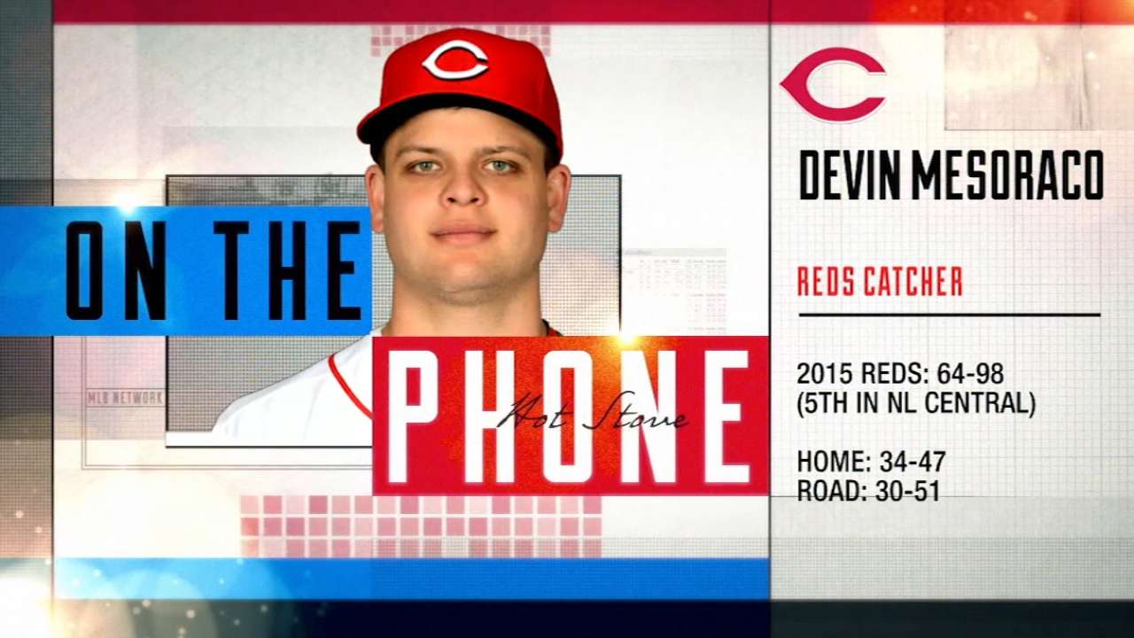 Mesoraco calls in to Hot Stove