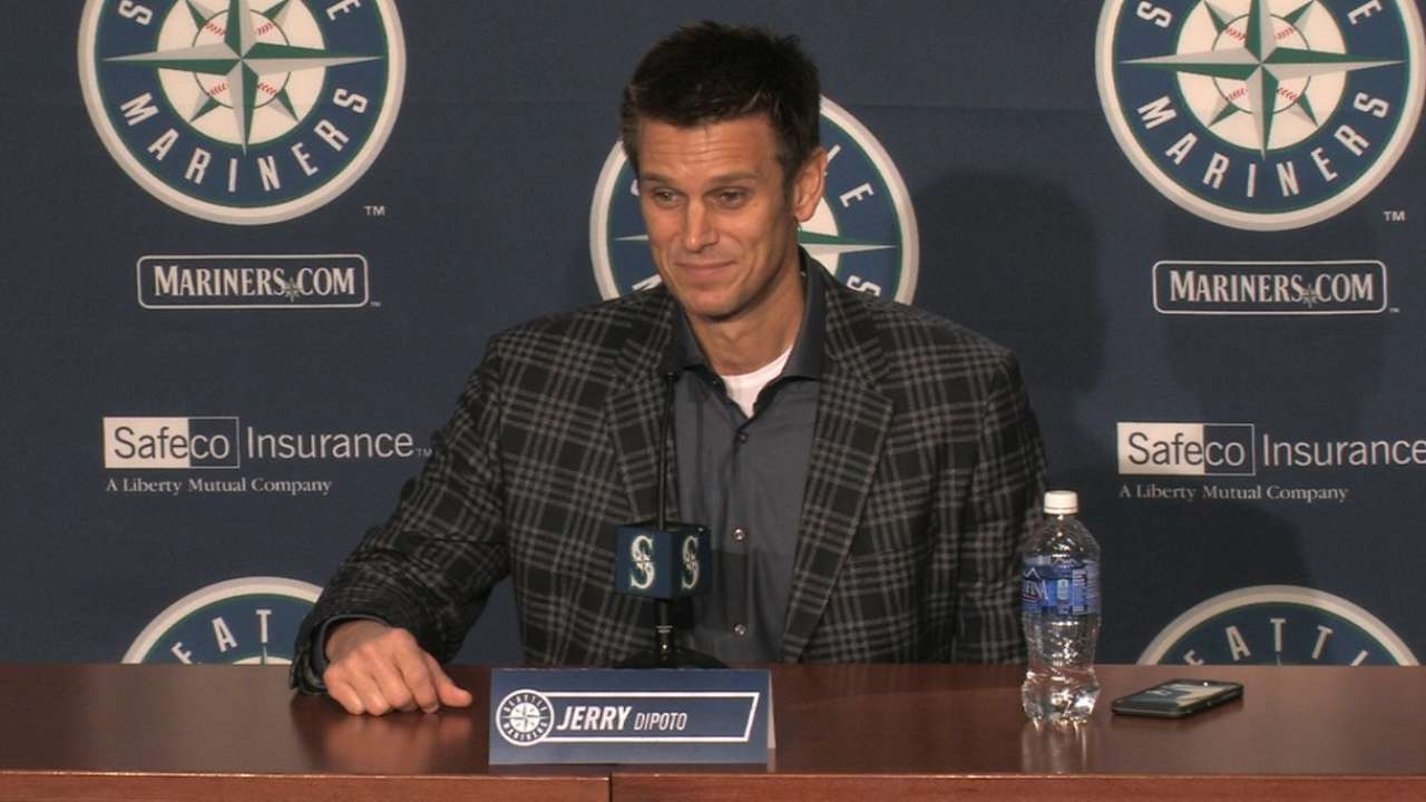 Dipoto on revitalized Mariners