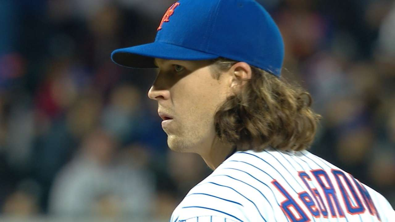 Outlook: deGrom, SP, NYM