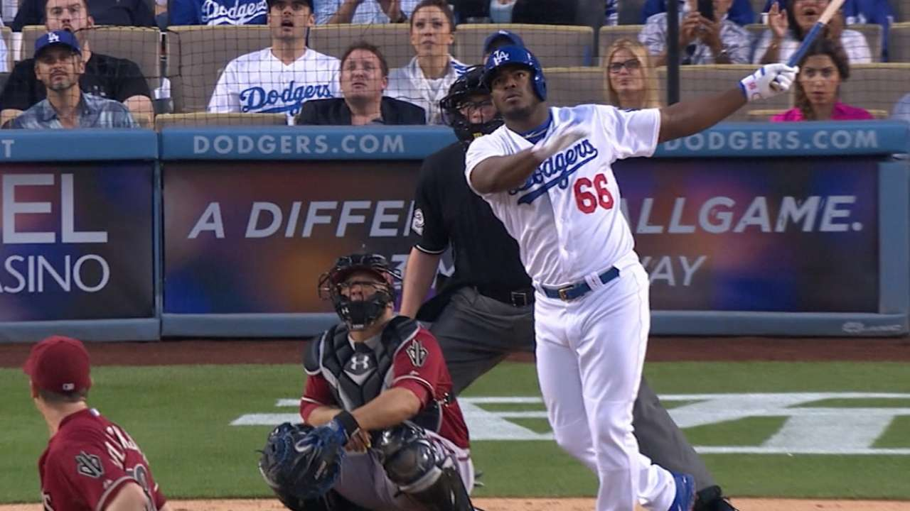 Puig, at crossroads, key to Dodgers' success