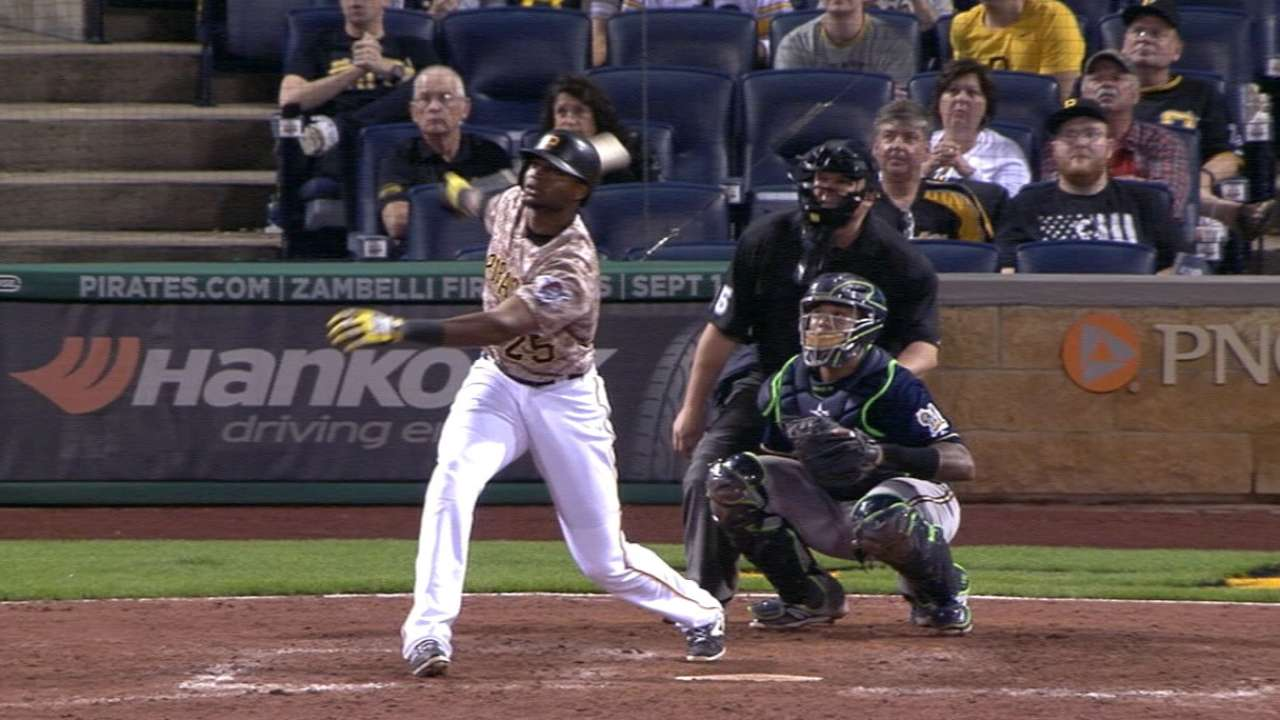 Outlook: Polanco, RF, PIT