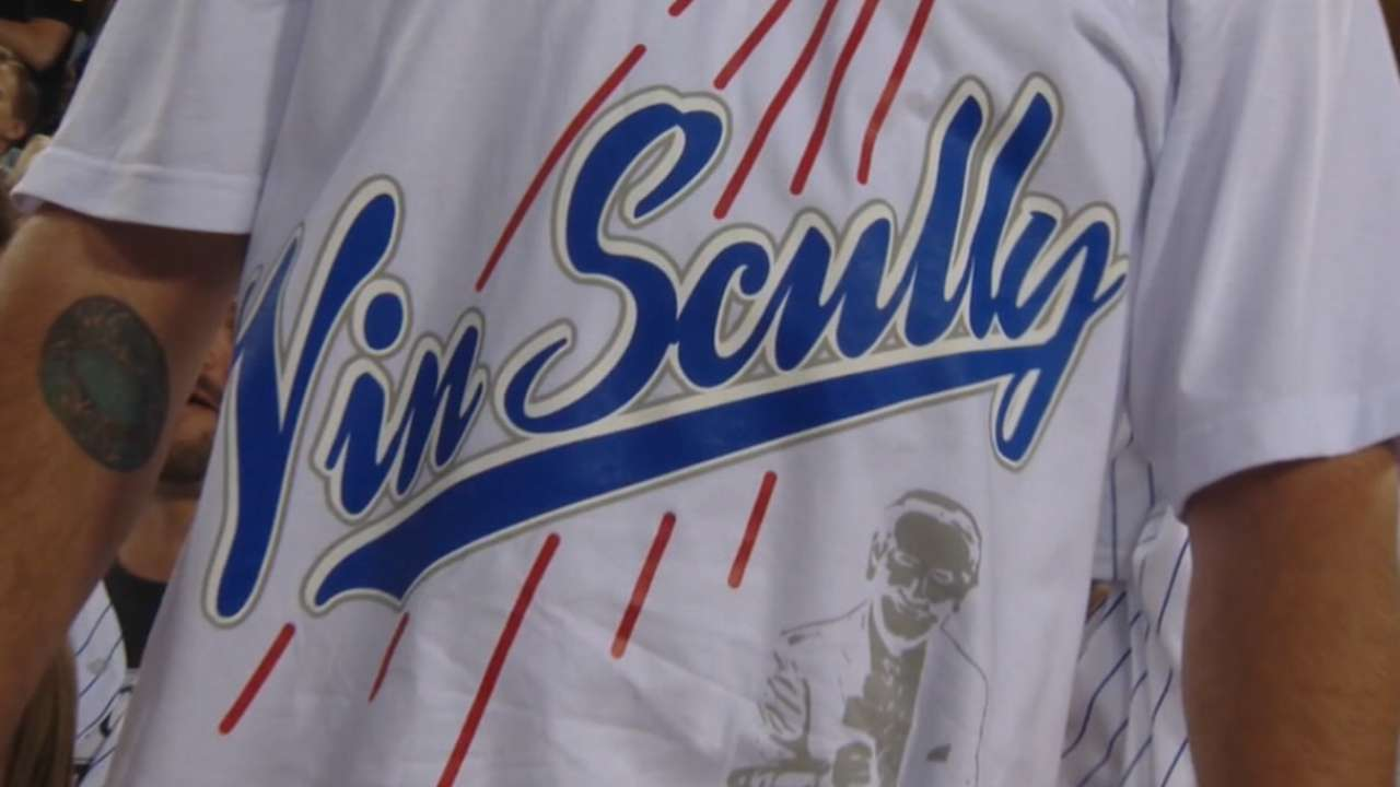 Road to Dodger Stadium to be renamed Vin Scully Avenue