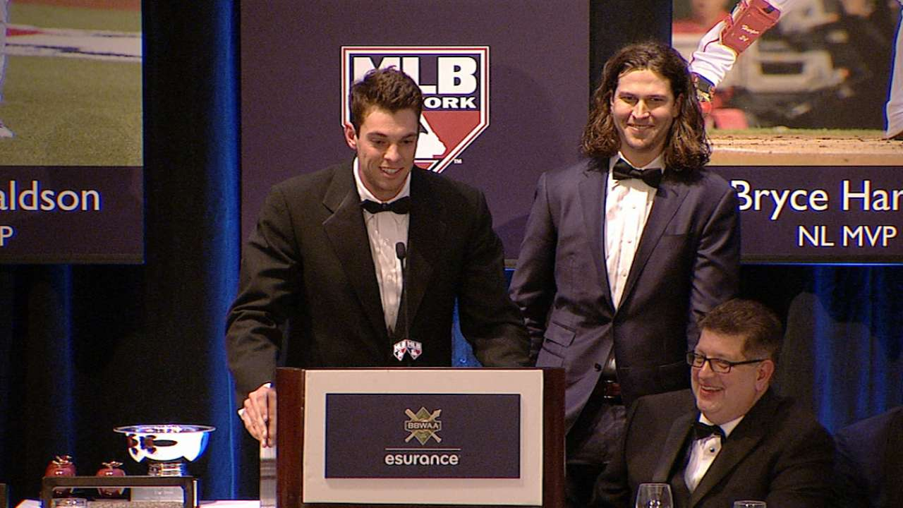 BBWAA honors Matz and deGrom