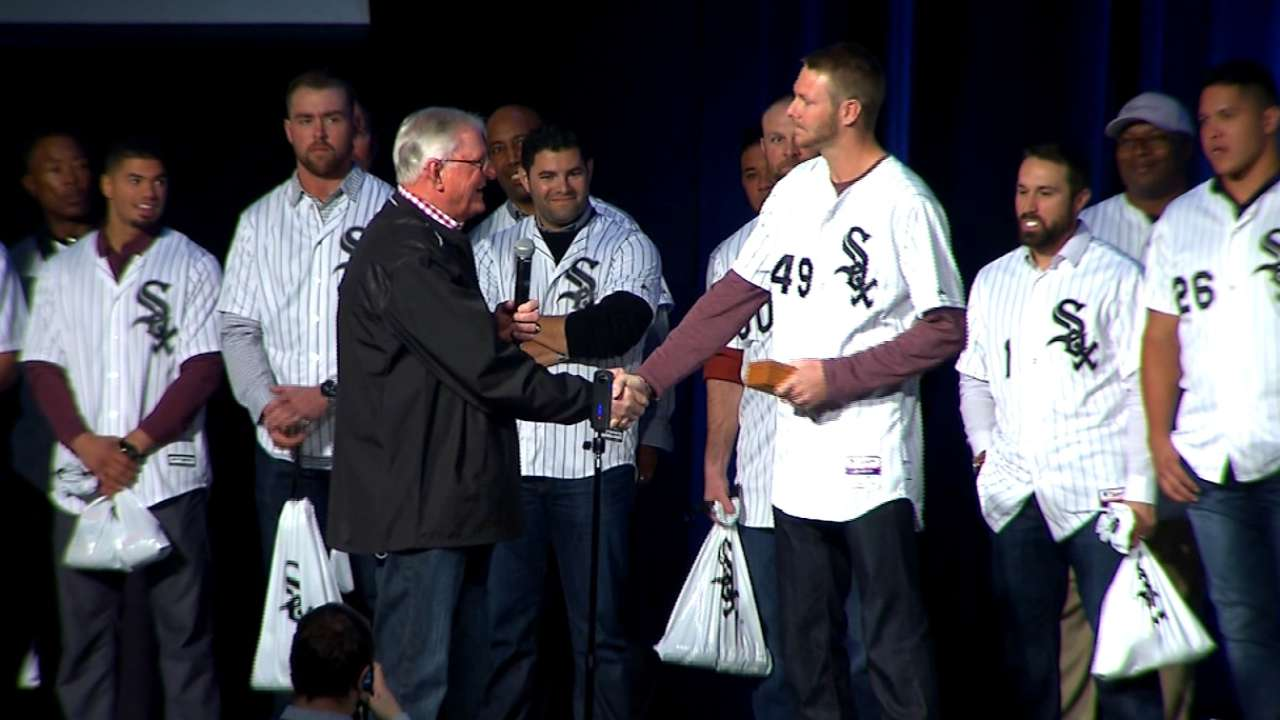 White Sox honor Chris Sale