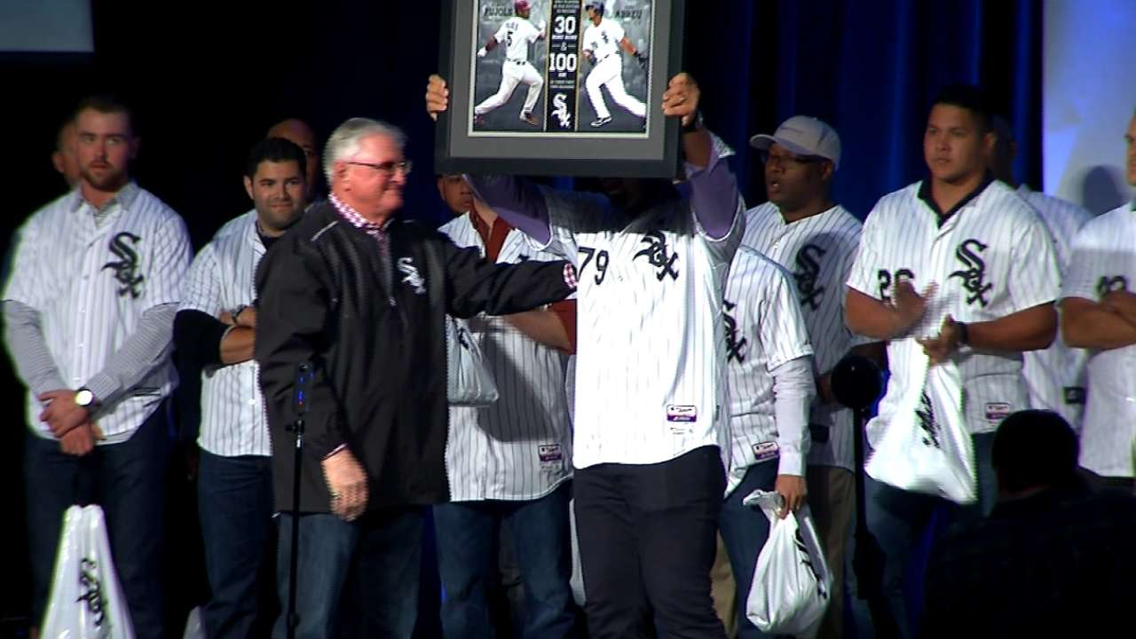 White Sox honor Jose Abreu