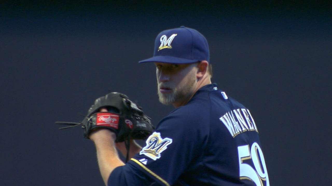 Mayo on Wagner to the D-backs