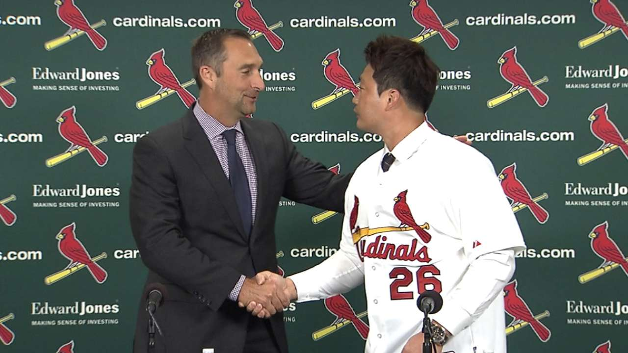 Cardinals hire Koo as translator for Oh