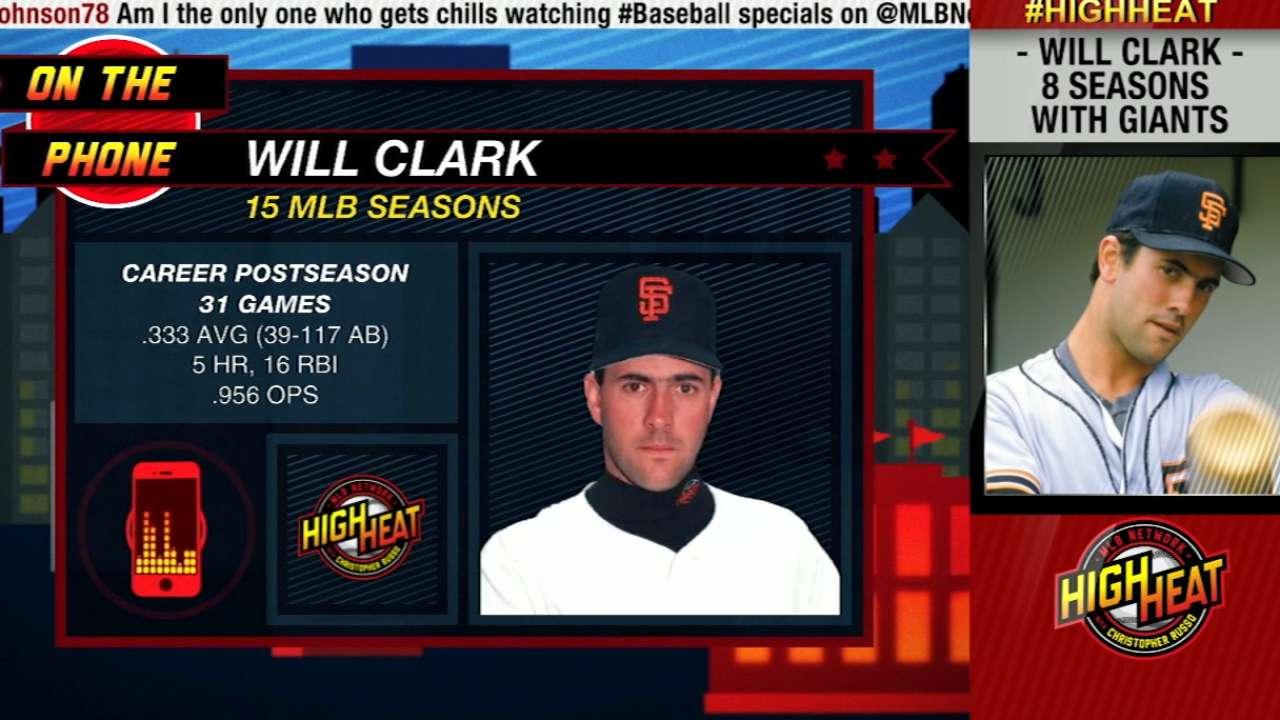Clark on his Giants career