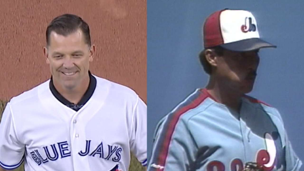 Starkman reps Blue Jays, enters Canadian HOF