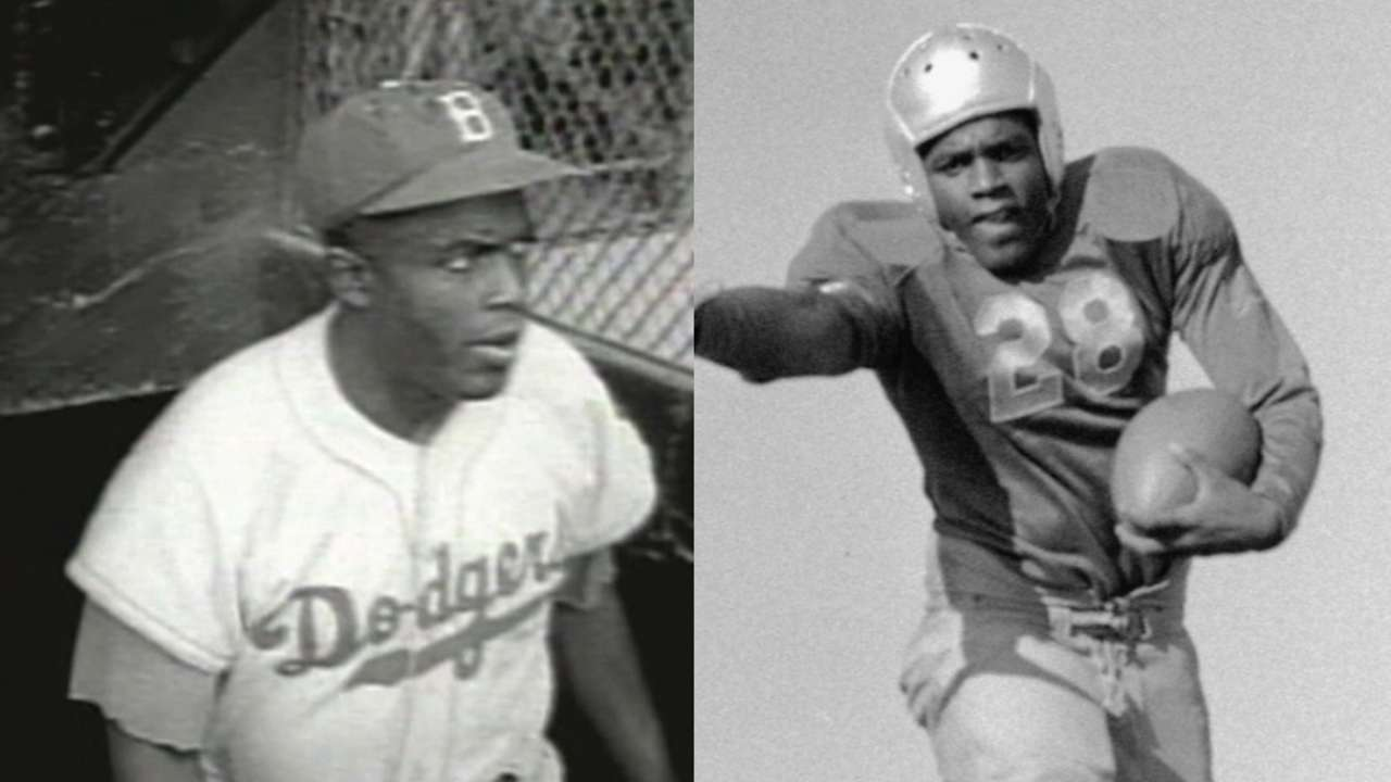 Super utility men: 13 baseball-football stars