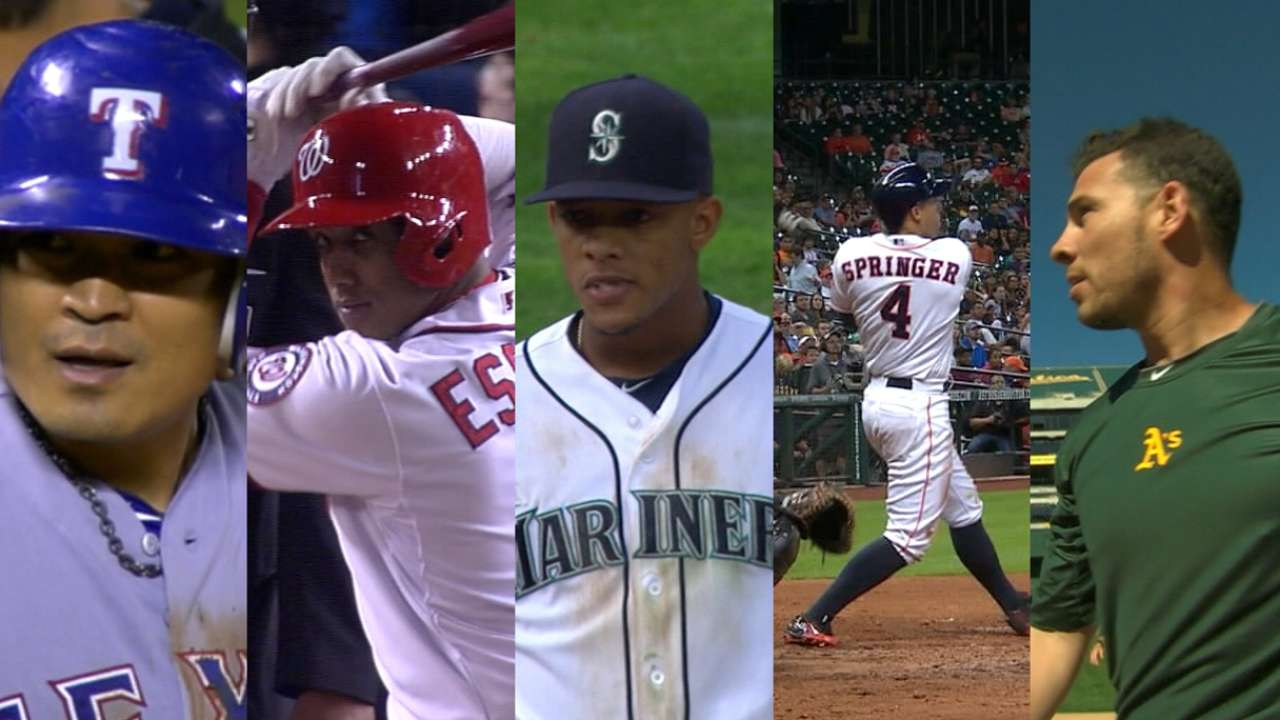 AL West's top 5 impact position players