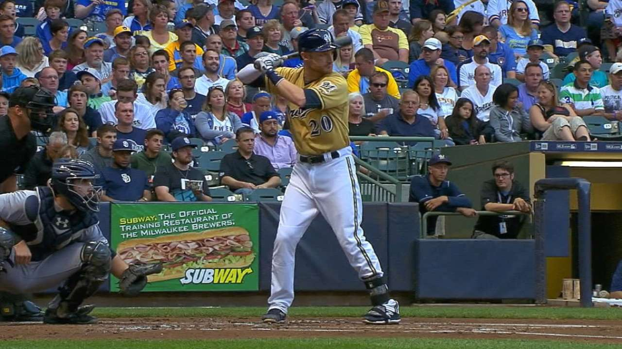 Spring epiphany has Lucroy singing new tune
