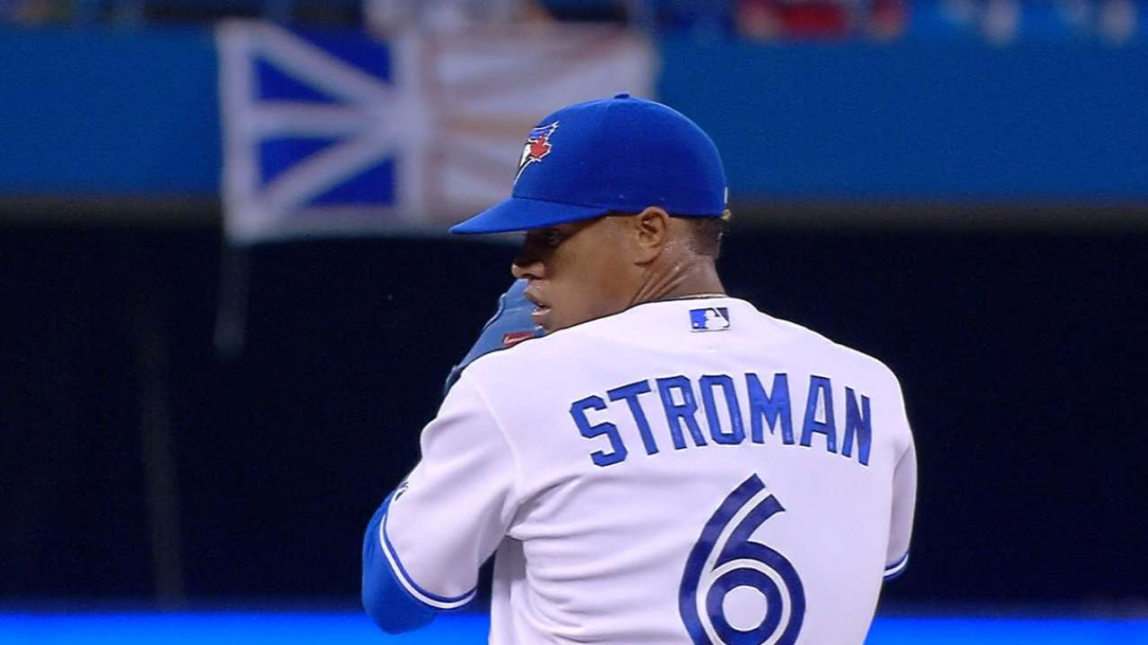 Stroman loves living in moment on Snapchat