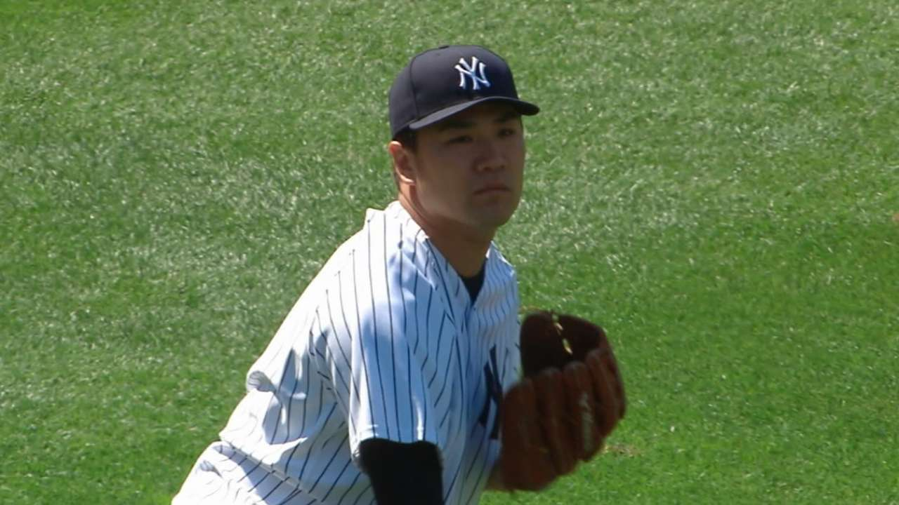 Tanaka to make spring debut Sunday