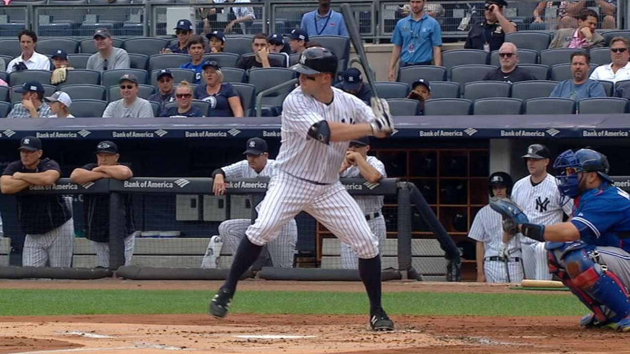 Outlook: Gardner, OF, NYY