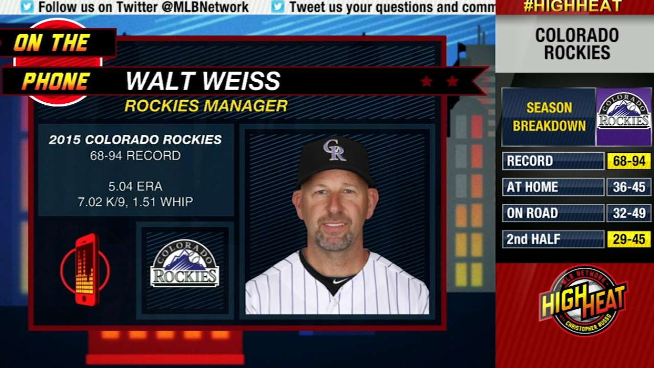 Weiss joins Mad Dog on High Heat