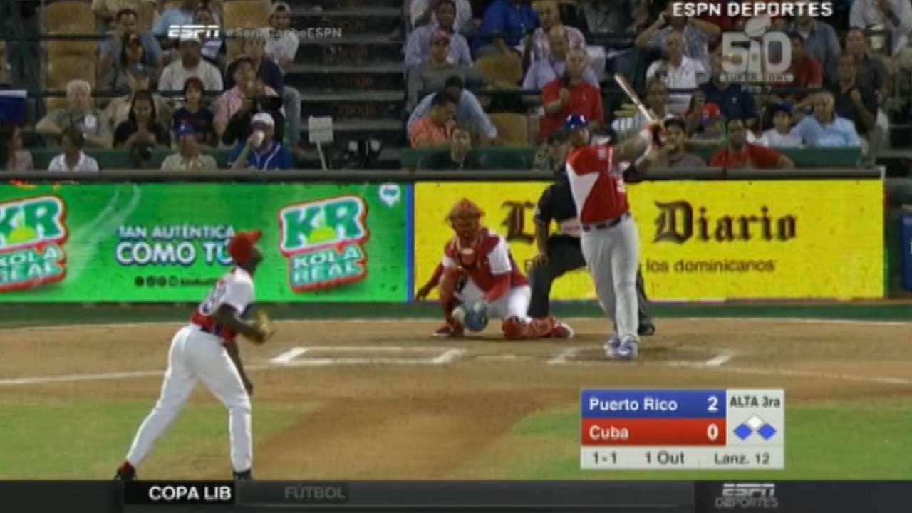 Vargas' three-run home run