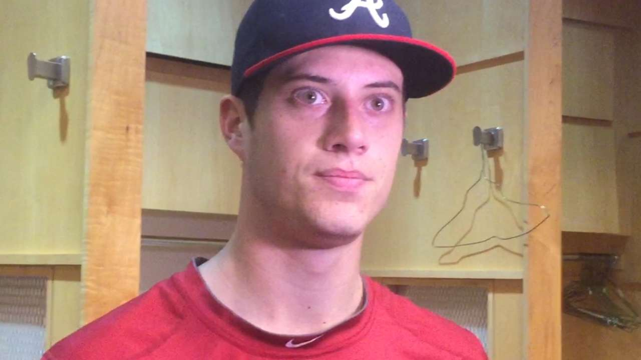 Wisler's changeup showing consistency