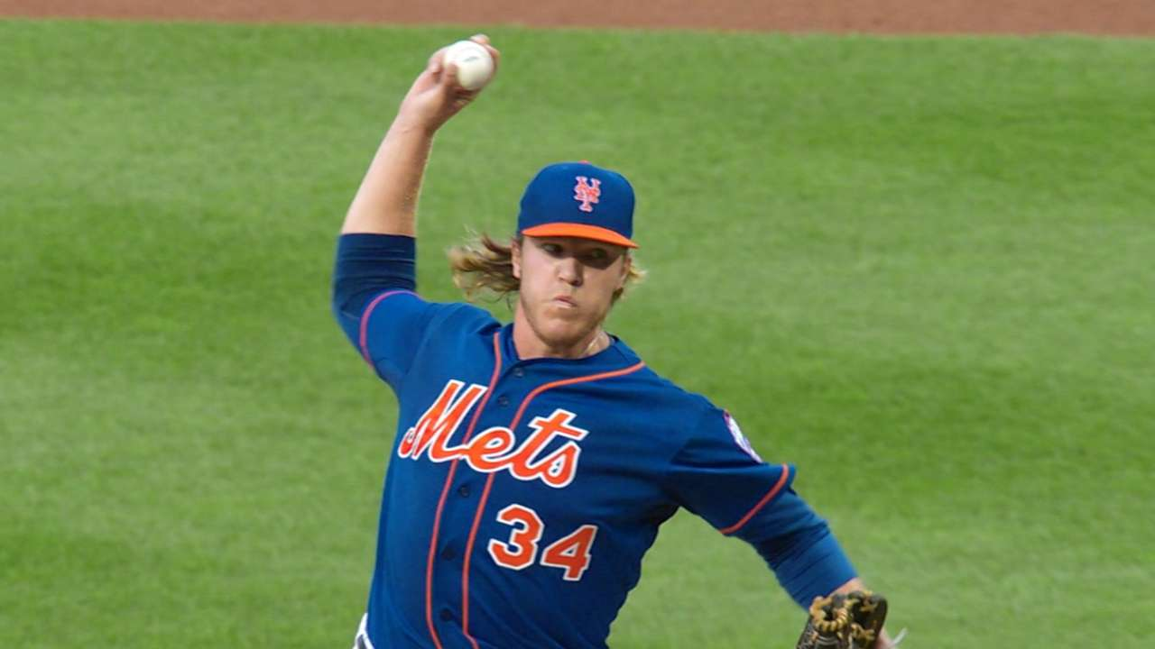 Outlook: Syndergaard, SP, NYM