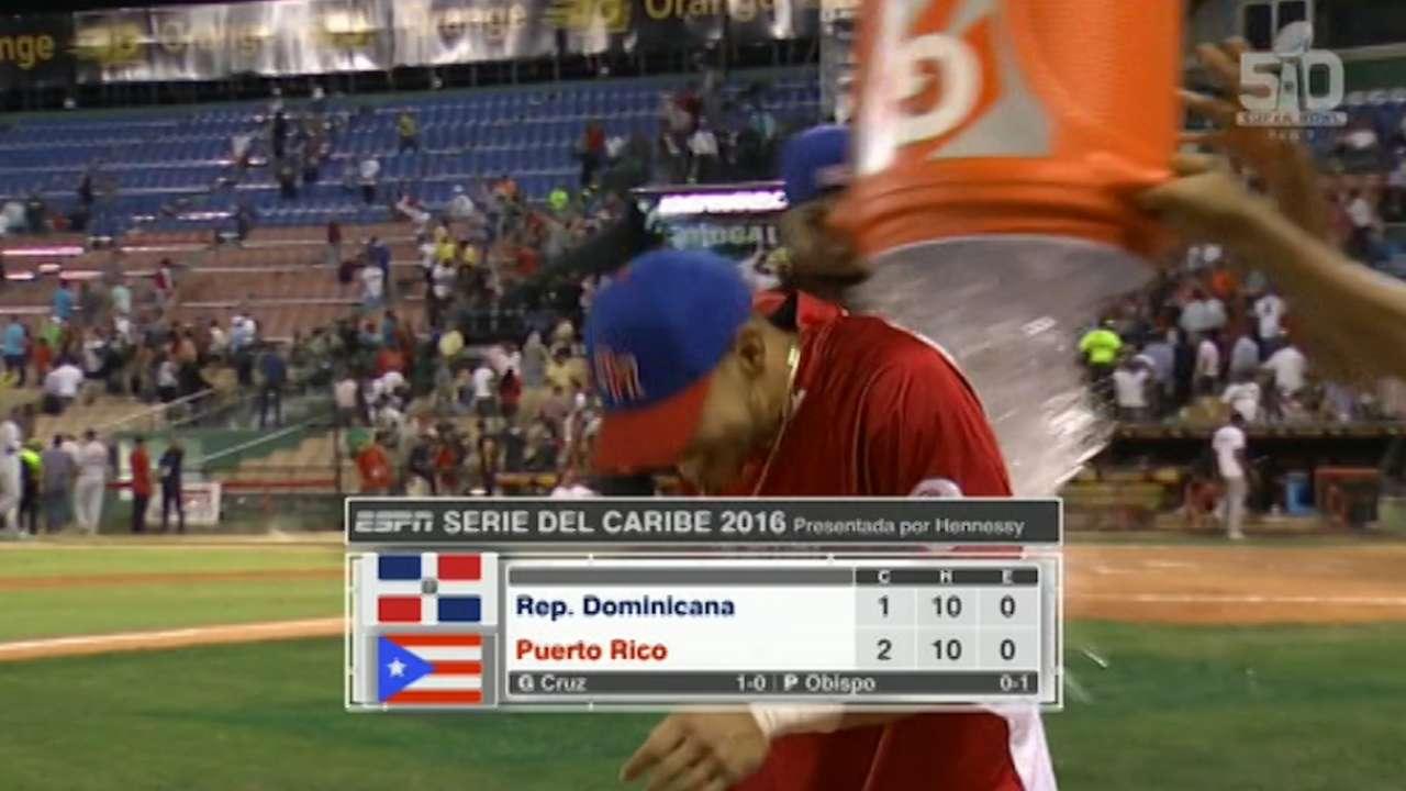 Venezuela tops Cuba; P.R. walks off on D.R.