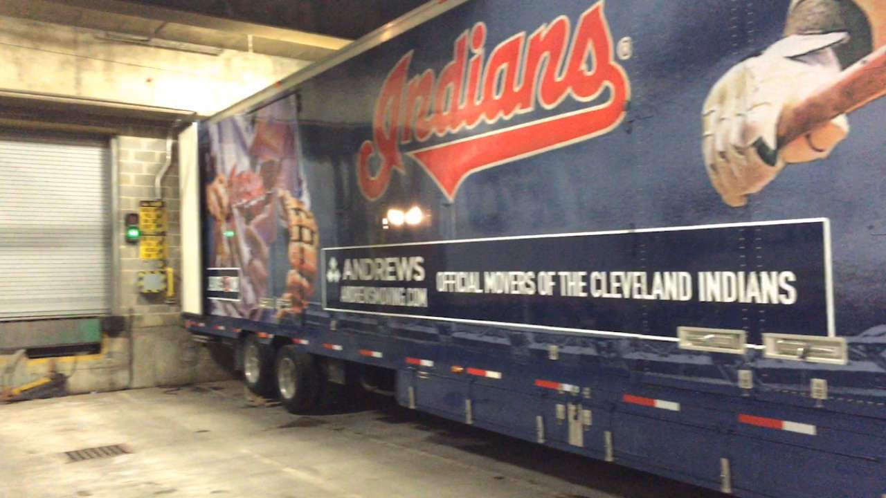 Indians catch spring fever on Truck Day