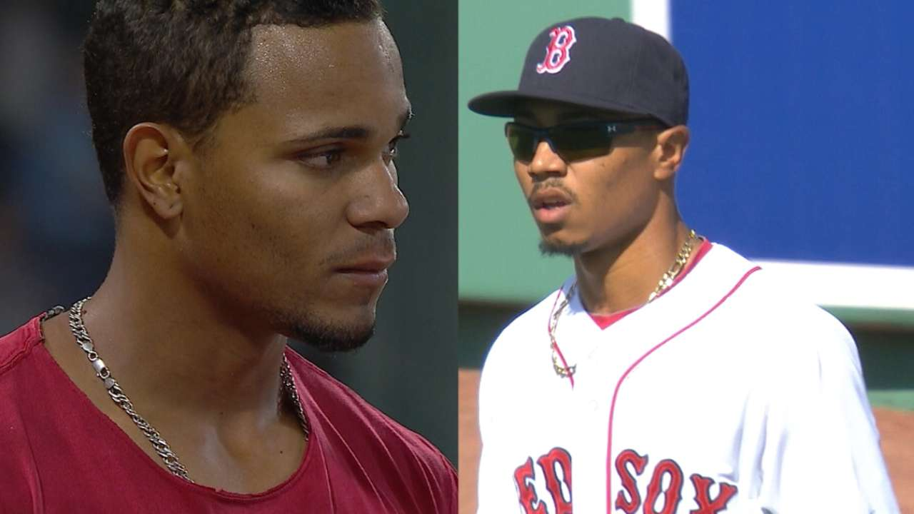 Close friends Betts, Bogaerts poised to lead Sox