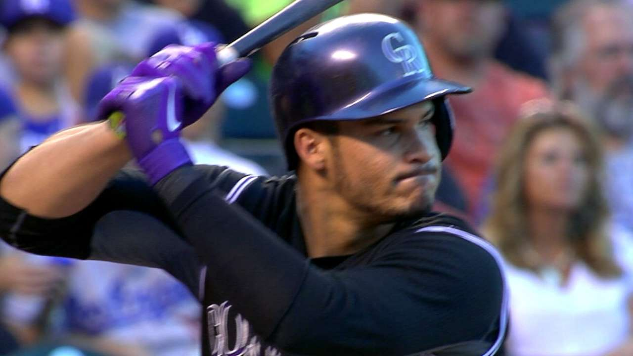 Arenado lets glove offer defense of ability