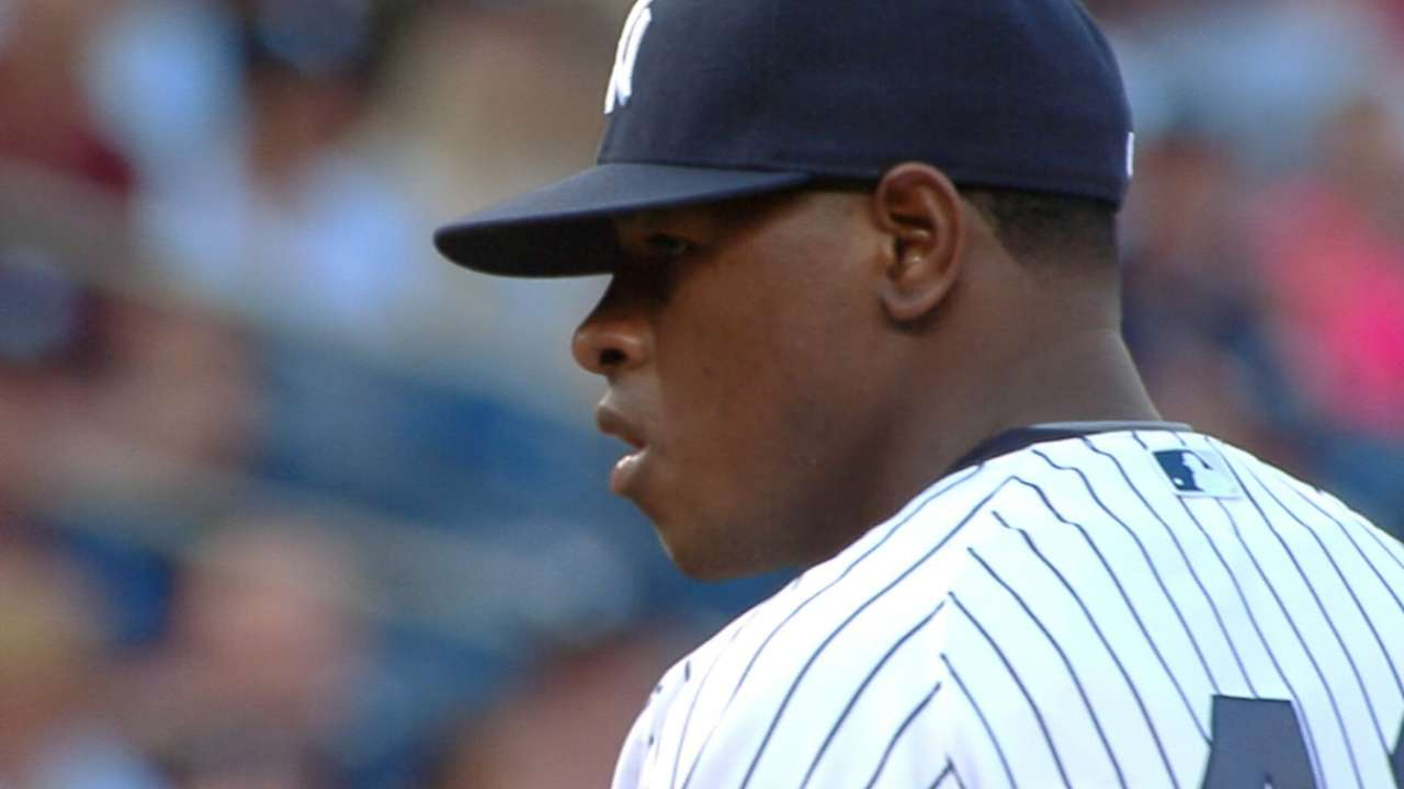 Outlook: Severino, SP, NYY