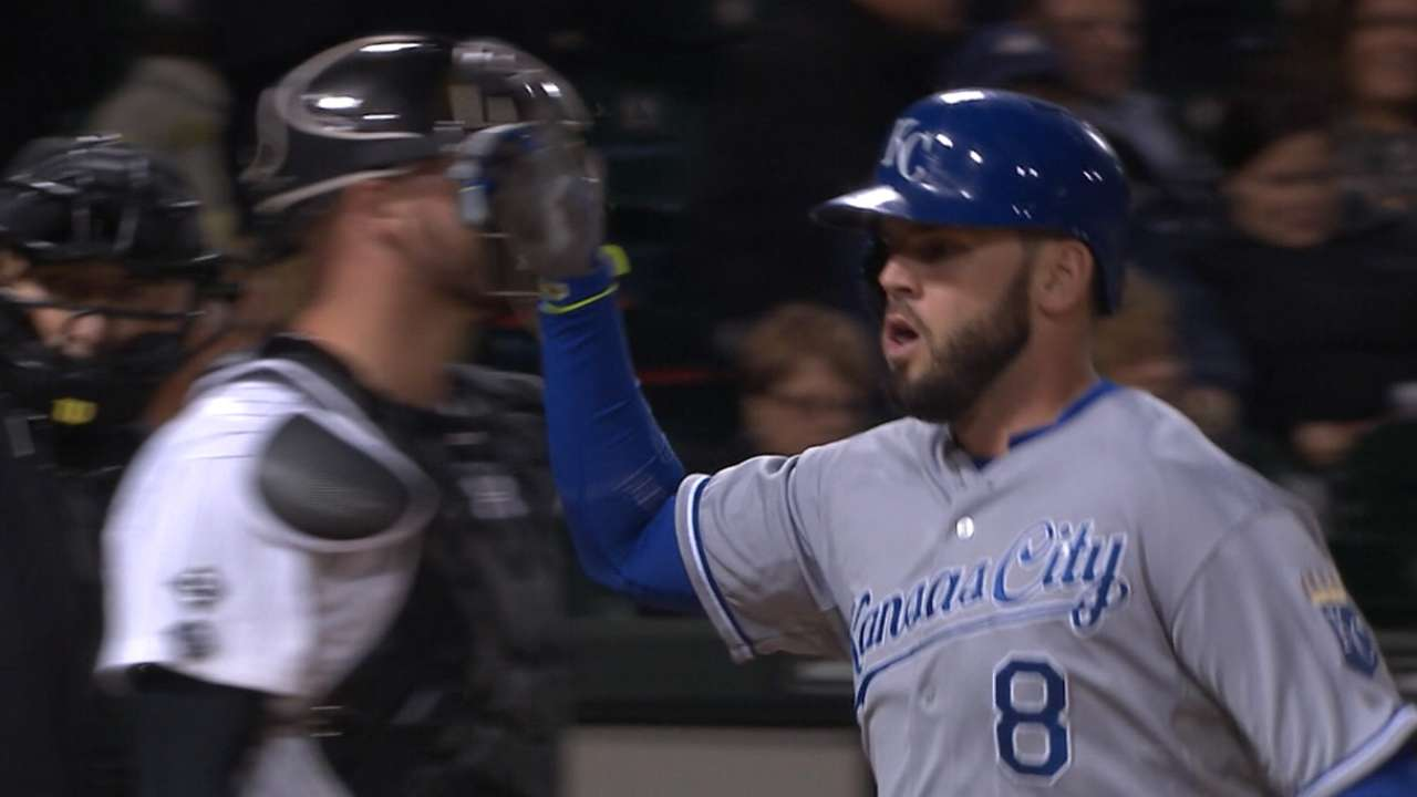 Outlook: Moustakas, 3B, KC