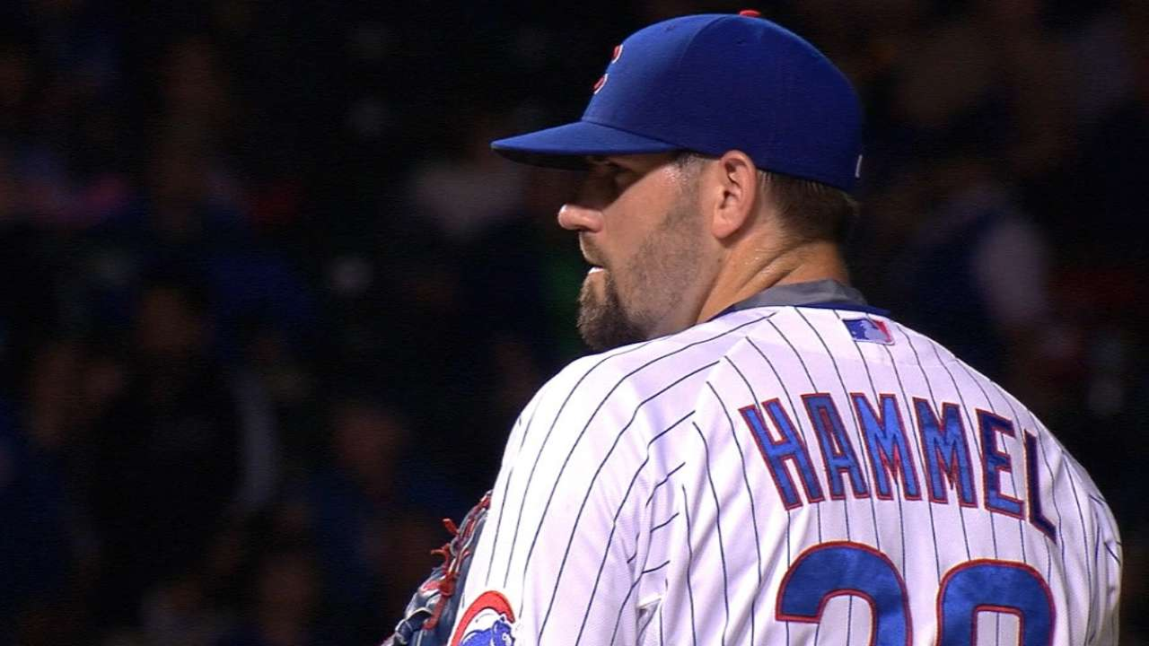 Hammel finds rhythm after early butterflies