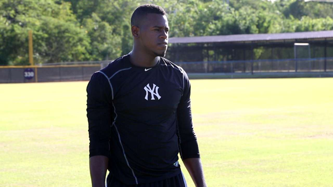 Star back home, Severino sparks excitement
